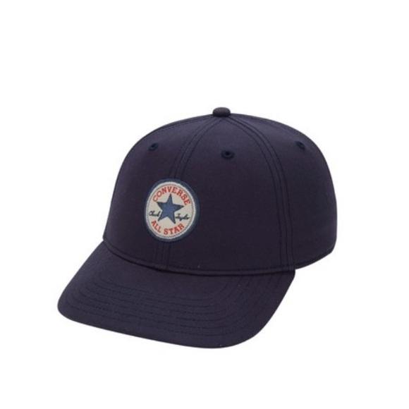a14fde35864 Converse Blue Short Visor Logo Baseball Cap